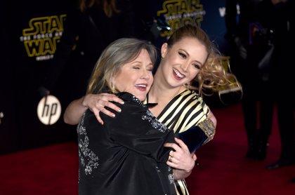 Emotivo homenaje de la hija de Carrie Fisher en el segundo aniversario de su muerte