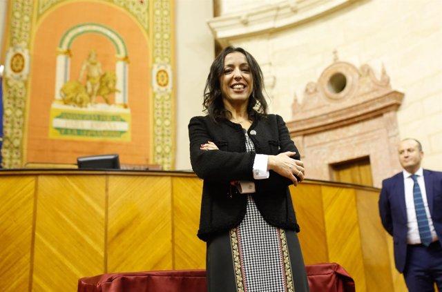 Marta Bosquet, presidenta del Parlamento