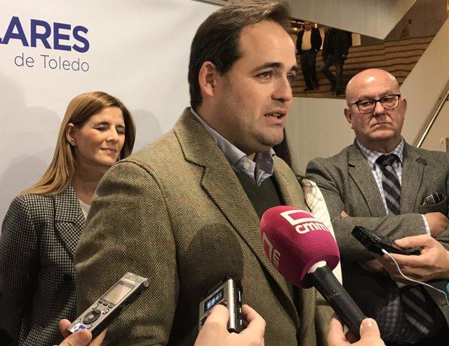 Paco Núñez, presidente regional del PP