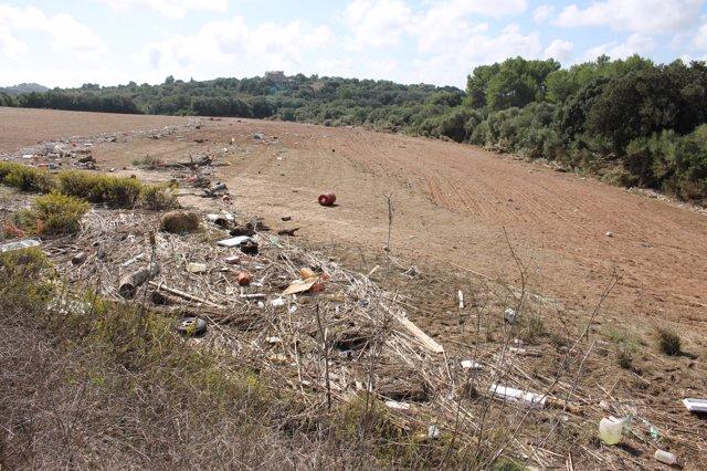 Explotació agrària afectada per les inundacions