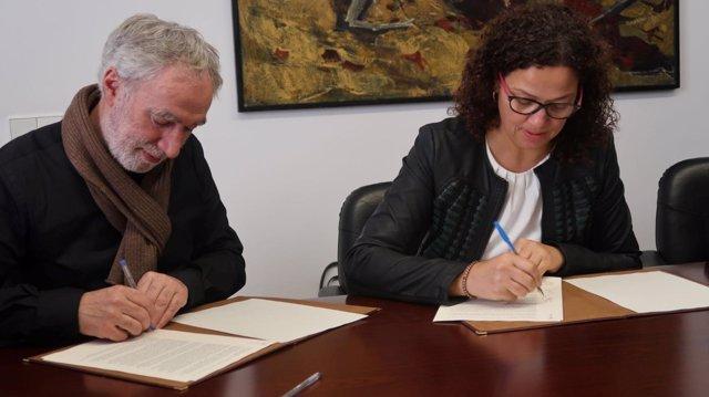 Cladera signa l'acord per donar 200.000 euros en ajudes per a Pollença