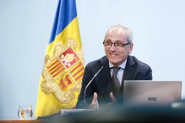 El ministre de Turisme d'Andorra Francesc Camp