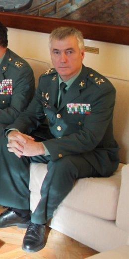 El general de División de la Guardia Civil Félix Blázquez