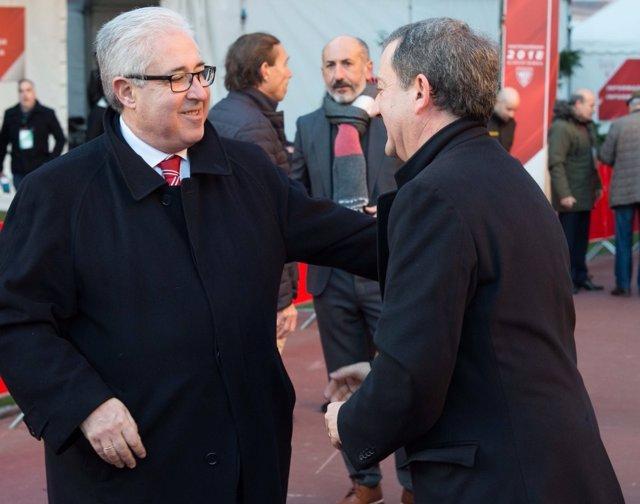 Uribe-Echevarría vota en las elecciones del Athletic