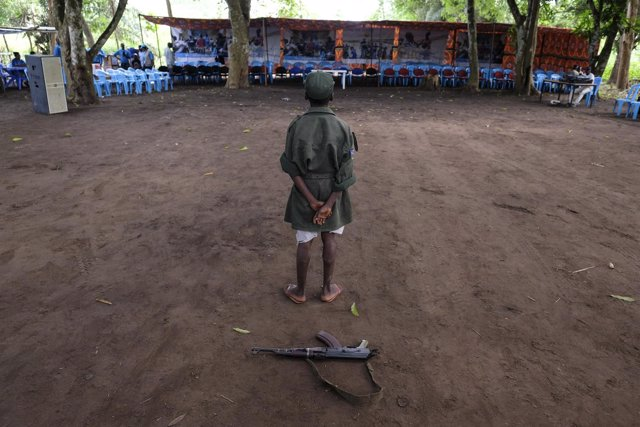 Liberación de niños soldado en Sudán del Sur