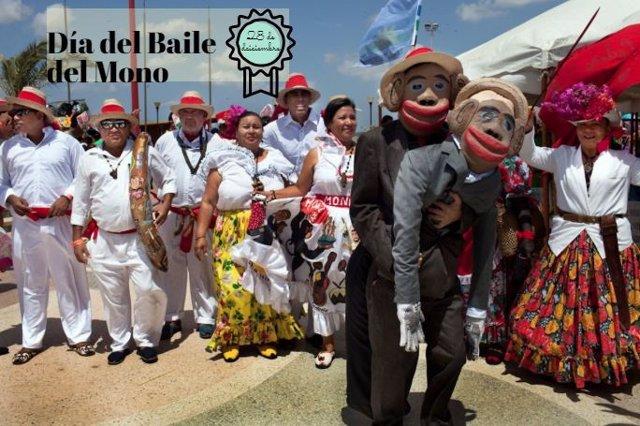 Día del Baile del Mono en Venezuela