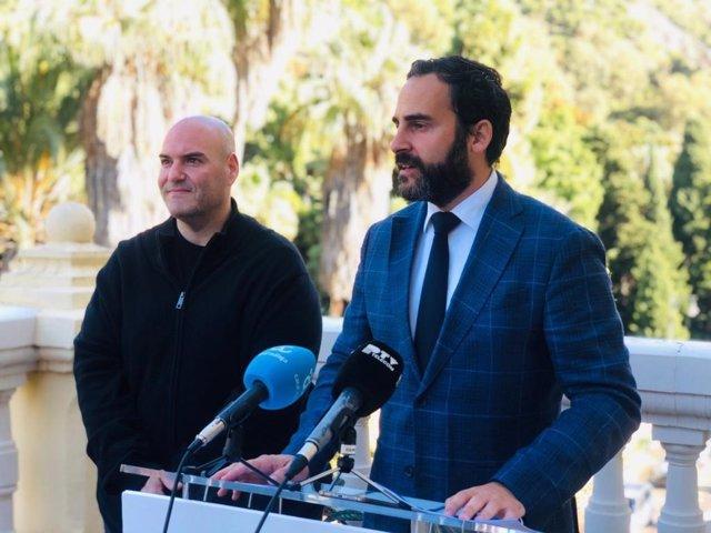 Daniel Pérez, PSOE en el Ayuntamiento, en rueda de prensa