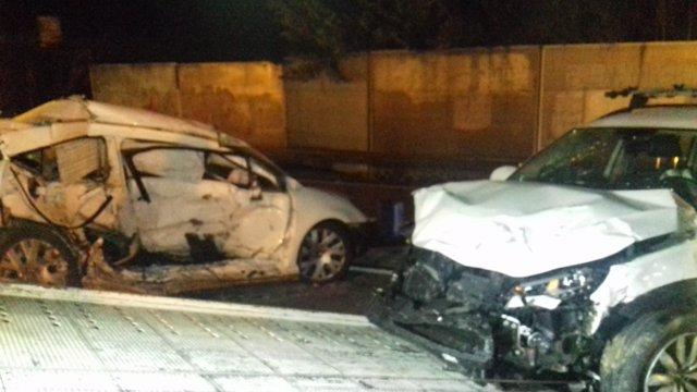 Muere el conductor de un turismo en un choque en Llinars del Vallès (Barcelona)