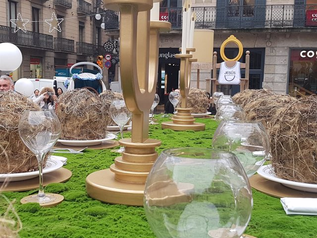 Pesebre de la plaza Sant Jaume