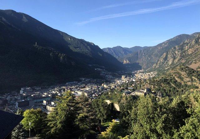 Imagen panorámica de Andorra