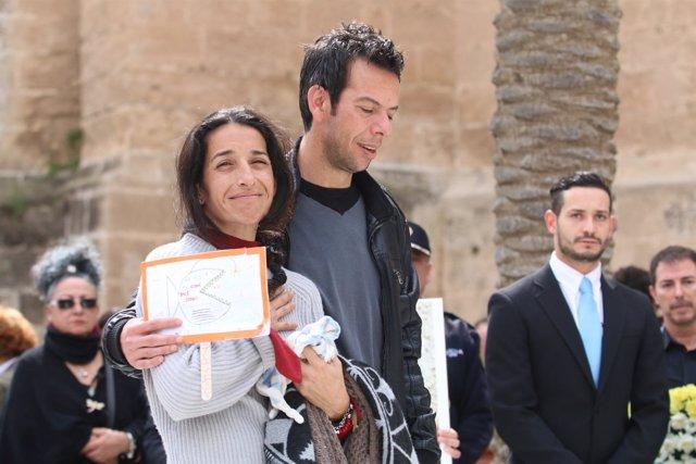 Patricia Ramírez y Ángel Cruz, los padres de Gabriel
