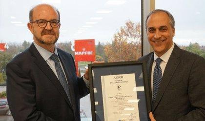 Mapfre obtiene el certificado de calidad Aenor ISO 9001 para el área de emisión y suscripción de empresas