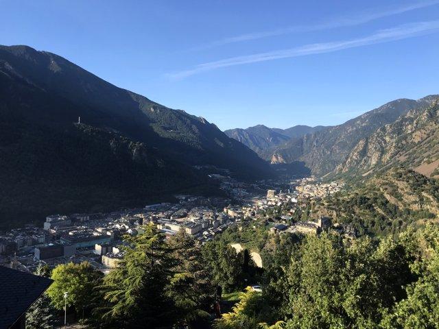 Imatge panoràmica d'Andorra