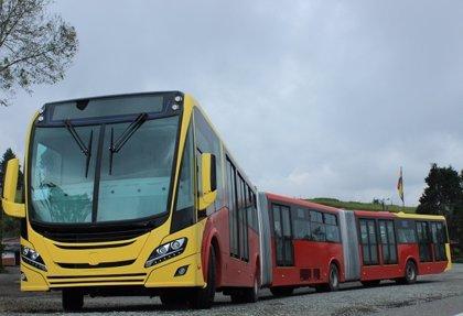Scania entregará 741 autobuses de gas a TransMilenio en Bogotá