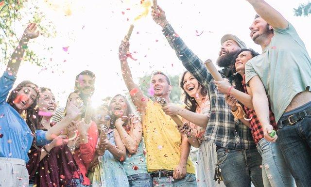 Las fiestas para los adolescentes