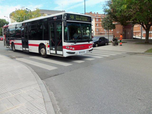 Autobús urbano de emtusa en Gijón