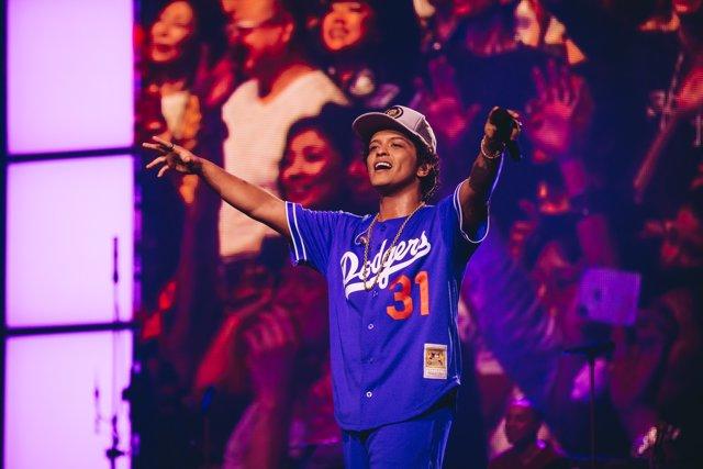 Concierto de Bruno Mars en Asia