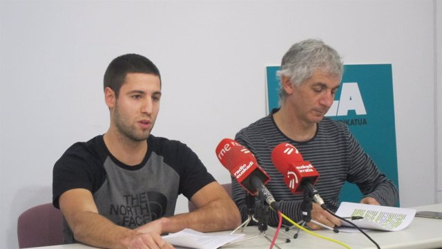 Xabier Zabala Y Mikel Noval (ELA)