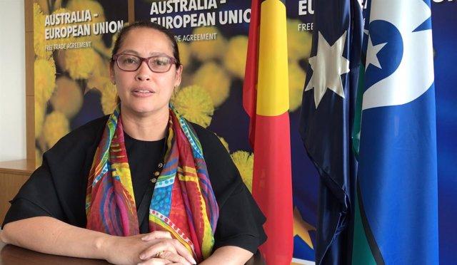La embajadora de Australia en España, Julie-Ann Guivarra