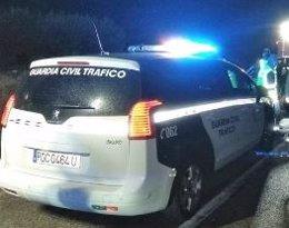 Coche de la Guardia Civil de Tráfico en Jaén