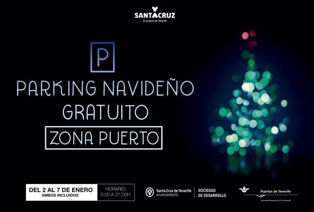 AF Vinilo Parking Santa Cruz 103x153cm