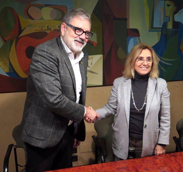 Fèlix Larrosa y Marta Quintián