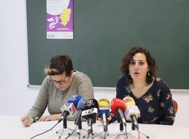 Vanesa Polo y Esther Ibáñez.
