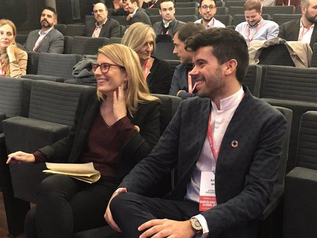 La consellera E.Artadi en el cierre del Barcelona Alumni Global Summit
