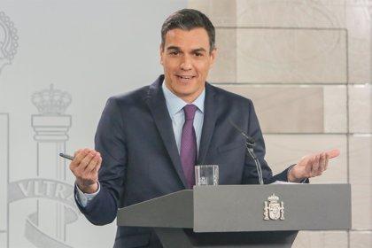 """Sánchez insiste en que su """"vocación"""" es agotar la Legislatura y dice que """"aspira"""" a aprobar los PGE de 2019"""