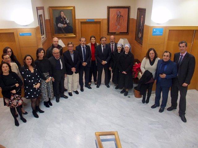 Colegio de abogados de málaga entrega recaudación 2018 colectivos sociales ayuda