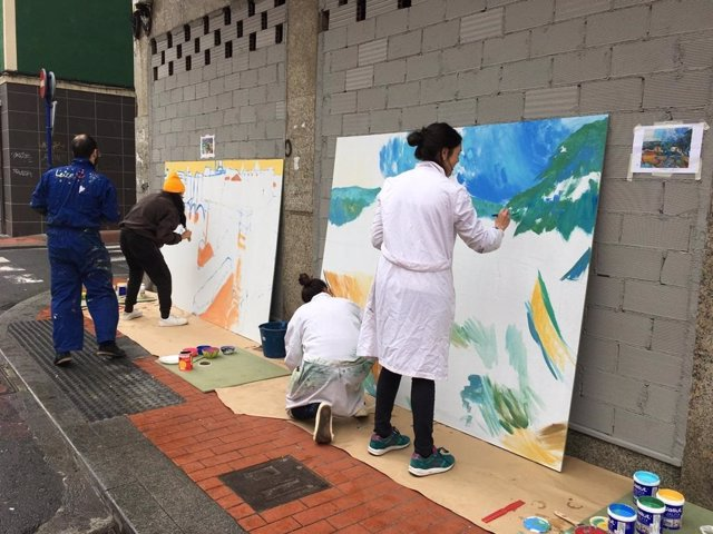 Actividad creativa en Barakaldo