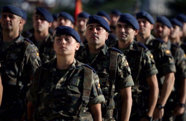 Soldados españoles.