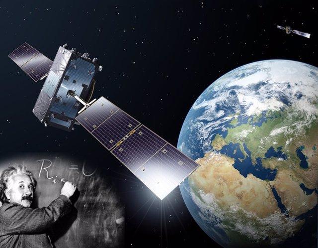 Satélites Galileo miden la dilatación del tiempo de Einstein