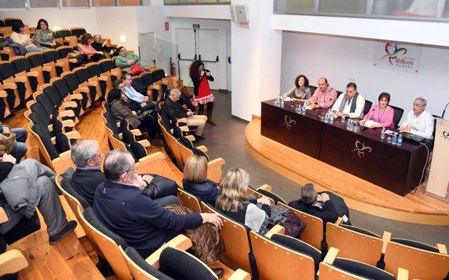 El Colegio de Médicos de Burgos.
