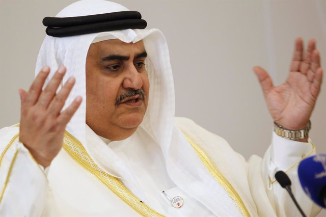 Ministro de Exteriores bahreiní Jalid bin Ahmed al Jalifa