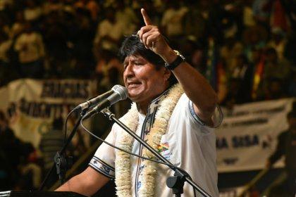 """Morales insta a la OEA a cesar la """"intromisión"""" en Nicaragua """"por instrucción del imperio"""""""