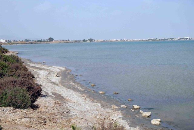 El Mar Menor, desde la rambla del Albujón