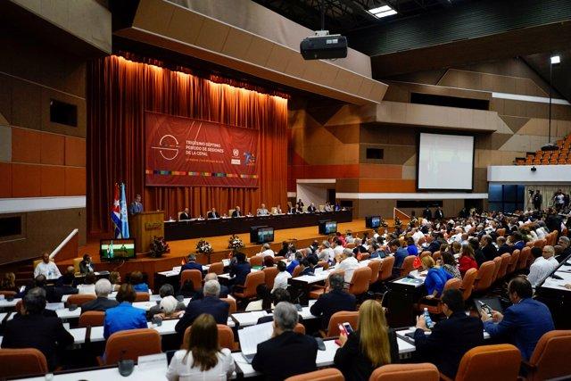 Sesión de la CEPAL