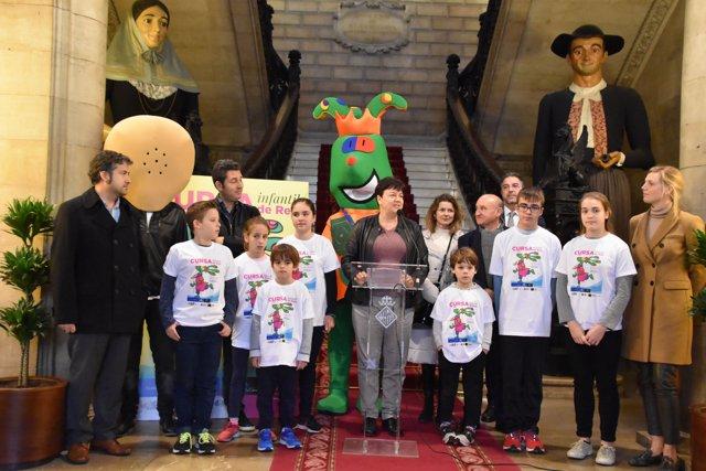 Presentació Carrera Infantil de Reyes 2019
