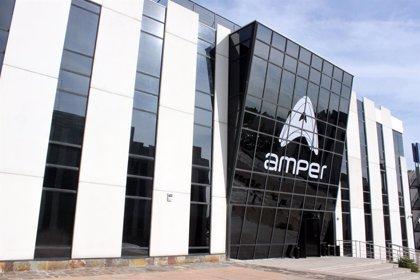 Amper culmina su ampliación y fija en 53 millones de euros su capital social