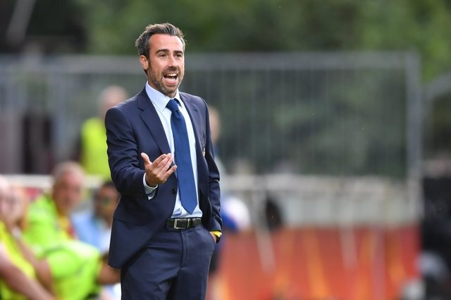 El entrenador de la selección española de fútbol femenino, Jorge Vilda