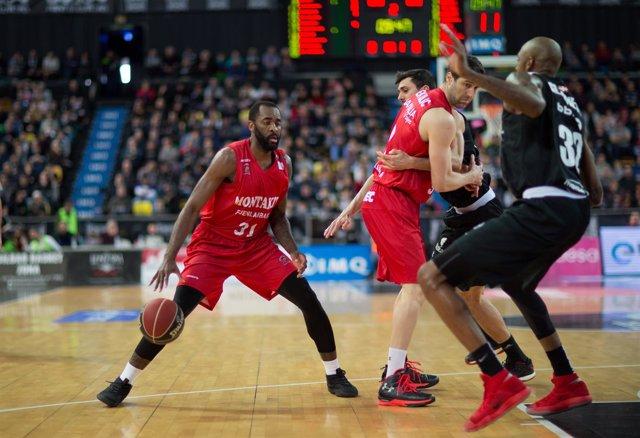Partido Retabet Bilbao Basket contra el Montakit Fuenlabrada