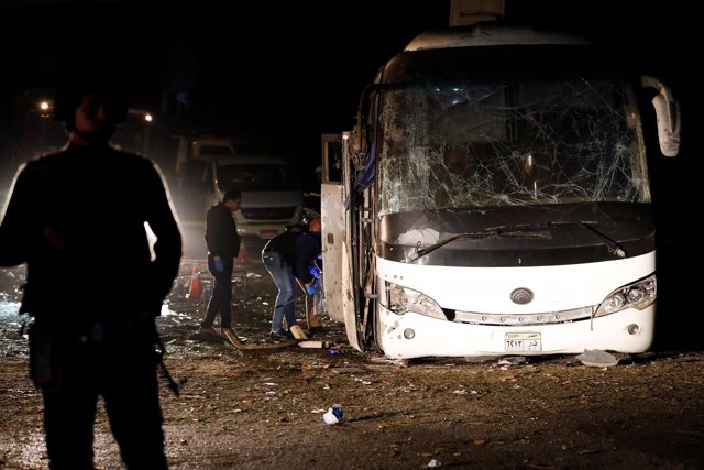 Atentado en Egipto contra un autobús de turistas