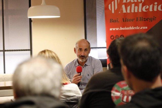 El nuevo presidente del Athletic Club, Aitor Elizegi