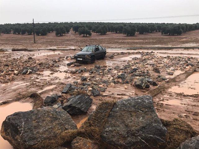 Lluvias, temporal, Málaga, octubre 2018