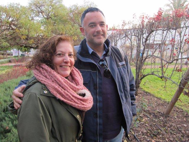 Ana Ferrando y Jorge Montero
