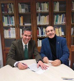 Acuerdo entre Diputación y Sociedad Excursionista