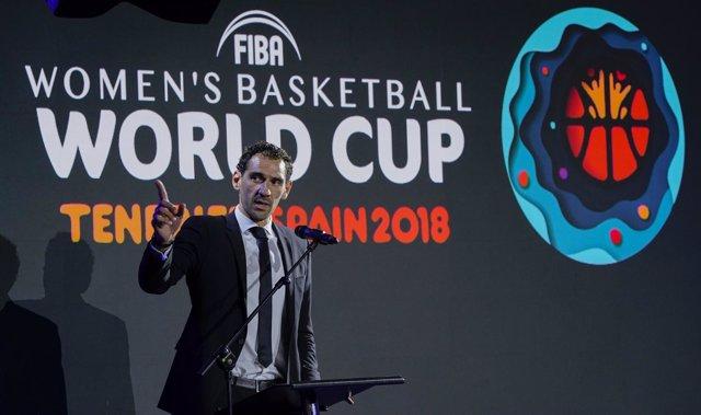 Jorge Garbajosa en el Mundial de Tenerife