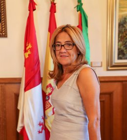 La presidenta de la Diputación de Zamora- Archivo