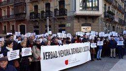 Concentración de Anvite en Pamplona